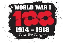 World War 1: 100. 1914-18 Lest we forget
